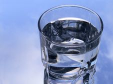 Free Glass Of Water In The Sky Stock Photography - 3456082