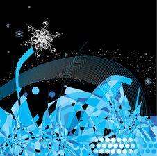 Free Winter Decorative Illustration Royalty Free Stock Photos - 3456928