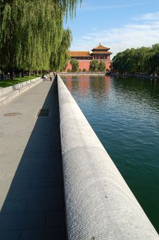 Free Forbidden City, Distant View Stock Image - 3457091