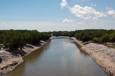 Free Midwest Canal Royalty Free Stock Photo - 3457375