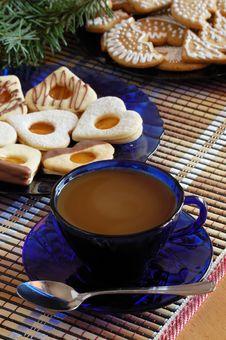 Free Christmas Cookies Stock Photo - 3457590