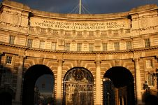 Free Admiralty Arch Stock Photo - 3457750
