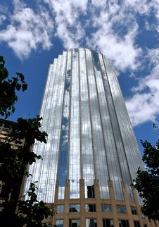 Free Magical Glass Office Tower Stock Images - 3458294