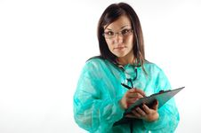 Free Female Doctor 14 Stock Image - 3458521