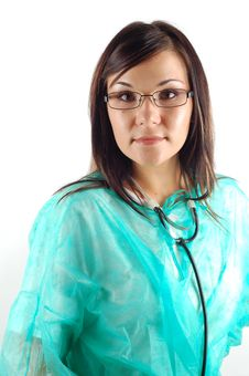 Free Female Doctor 14 Stock Photography - 3458602