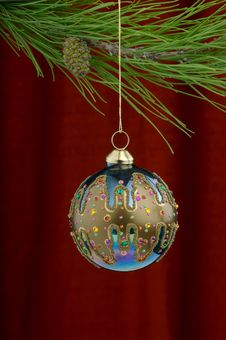 Free Christmas Decorations Royalty Free Stock Photo - 3458835