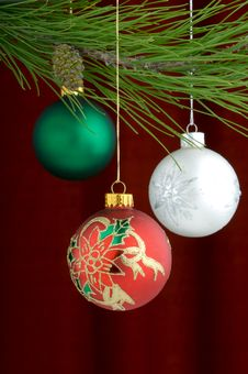 Free Christmas Decorations Royalty Free Stock Photos - 3458948