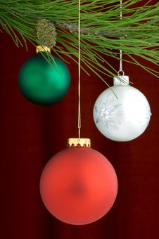 Free Christmas Decorations Royalty Free Stock Photos - 3458958