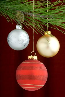 Free Christmas Decorations Royalty Free Stock Images - 3458969