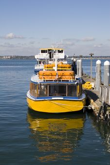 Free Yellow Ferry Stock Images - 3459214