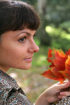 Free Autumn Woman 23 Stock Images - 3459504