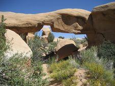 Free Devils Garden (Mano Arch) Stock Image - 3459611