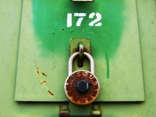 Free Rusty Combination Box Stock Photo - 3459750