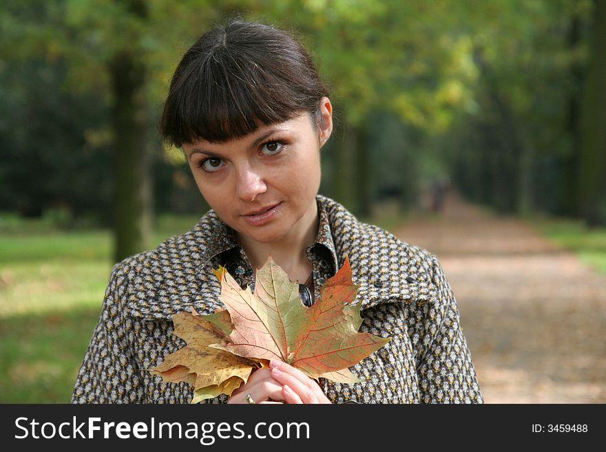 Autumn woman 22