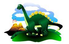 Free Dinosaur &x28;Vektor&x29; Stock Photo - 34509680