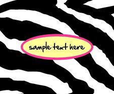 Free Seamless Zebra Pattern Stock Images - 34516254