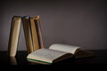 Free Books On The Table Royalty Free Stock Photo - 34522115