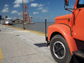 Free Truck In Port Royalty Free Stock Images - 34528759