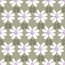 Free Floral Seamless Pattern On A Colored Background Royalty Free Stock Photos - 34521808