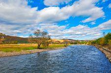 The Yalu River Stock Photography