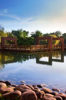 Free Modern Garden,Liuzhou City Park Royalty Free Stock Photo - 34525685