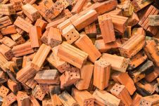 Free Red Brick For Construction Stock Images - 34526124