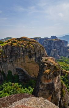 Free Meteora Cliffs Stock Images - 34527014
