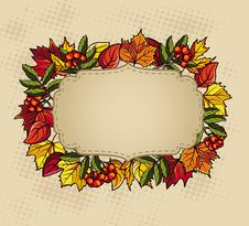 Free Thanksgivin Baner Stock Image - 34528061