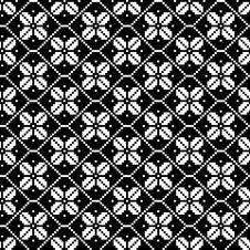 Free Monochromatic Ethnic Seamless Background Royalty Free Stock Photos - 34528108