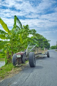 Free Vehicles Used In Agriculture. Royalty Free Stock Photography - 34529167