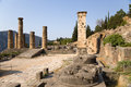 Free Greece. Delphi. Temple Of Apollo Royalty Free Stock Image - 34576046