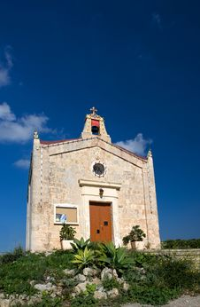 Old Small Church In Malta Stock Image