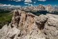 Free Dolomites Mountains, Formin Mountain, Italy Stock Images - 34580084