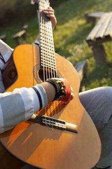 Free Guitarist Stock Photos - 34580313