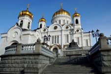 Free Christ The Saviour Cathedral In Moscow, Russia Stock Image - 34580781