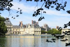 Free The Castle Of Fontainebleau Stock Photos - 34583073