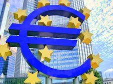 Free Euro - Frankfurt Royalty Free Stock Photography - 34584397