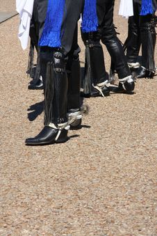 Free Folk Dancer Foot Stock Photo - 34584480