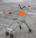 Free Shopping Basket In Supermarket Stock Images - 34599154