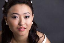 Free Beautiful Woman Of Asia Royalty Free Stock Image - 34590896