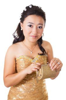 Free Beautiful Woman Of Asia Royalty Free Stock Image - 34590956