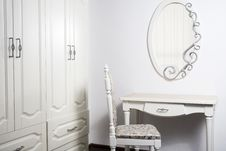 White Furniture In An Interior Royalty Free Stock Photos