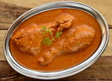 Free Butter Chicken Curry Stock Image - 34591131