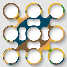 Free Vector Abstract Circular Object Stock Images - 34591494