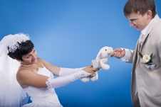 Free The Groom And The Bride Royalty Free Stock Photography - 34594997