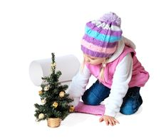 Free Little Girl Wearing A Scarf, Christmas, Winter, Frost Stock Photos - 34595543