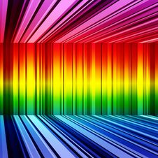 Free Abstract Rainbow Stripes Retro Colorful Background Royalty Free Stock Photos - 34596118