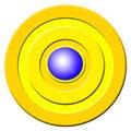 Free Blue Buzzer Button Royalty Free Stock Image - 3463736