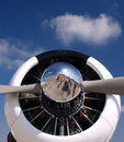 Free Vintage Plane Nose And Prop Royalty Free Stock Photo - 3468995