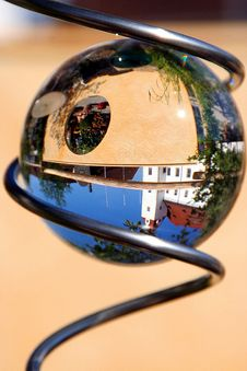 Free Town In A Glass Ball Stock Image - 3460491